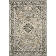 Loloi II Beatty Area Rug - Sky & Multi - 100% Wool