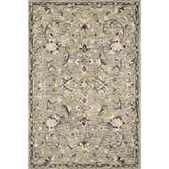 Loloi II Beatty Area Rug - Grey & Multi - 100% Wool