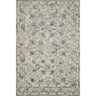 Loloi II Beatty Area Rug - Light Blue & Multi - 100% Wool