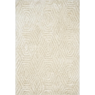 Loloi Caspia Area Rug - Ivory - 100% Polyester