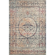 Loloi II Nour Area Rug - Blue & Multi