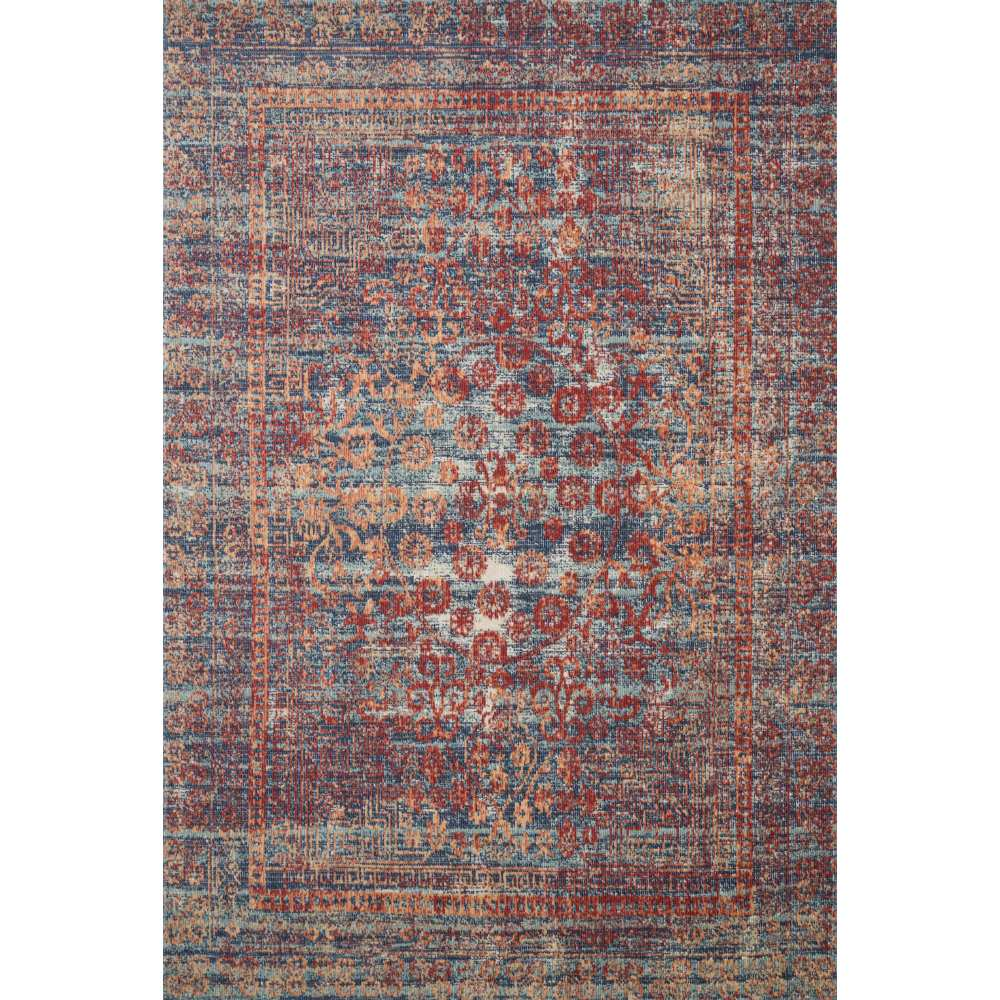 Loloi Ii Nour Rug Red Navy Nu 05 Transitional Area Rugs Free Ship