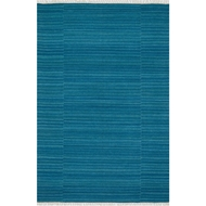 Loloi Anzio Area Rug - Blue - 100% Wool