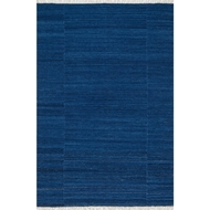 Loloi Anzio Area Rug - Denim - 100% Wool