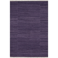 Loloi Anzio Area Rug - Purple - 100% Wool