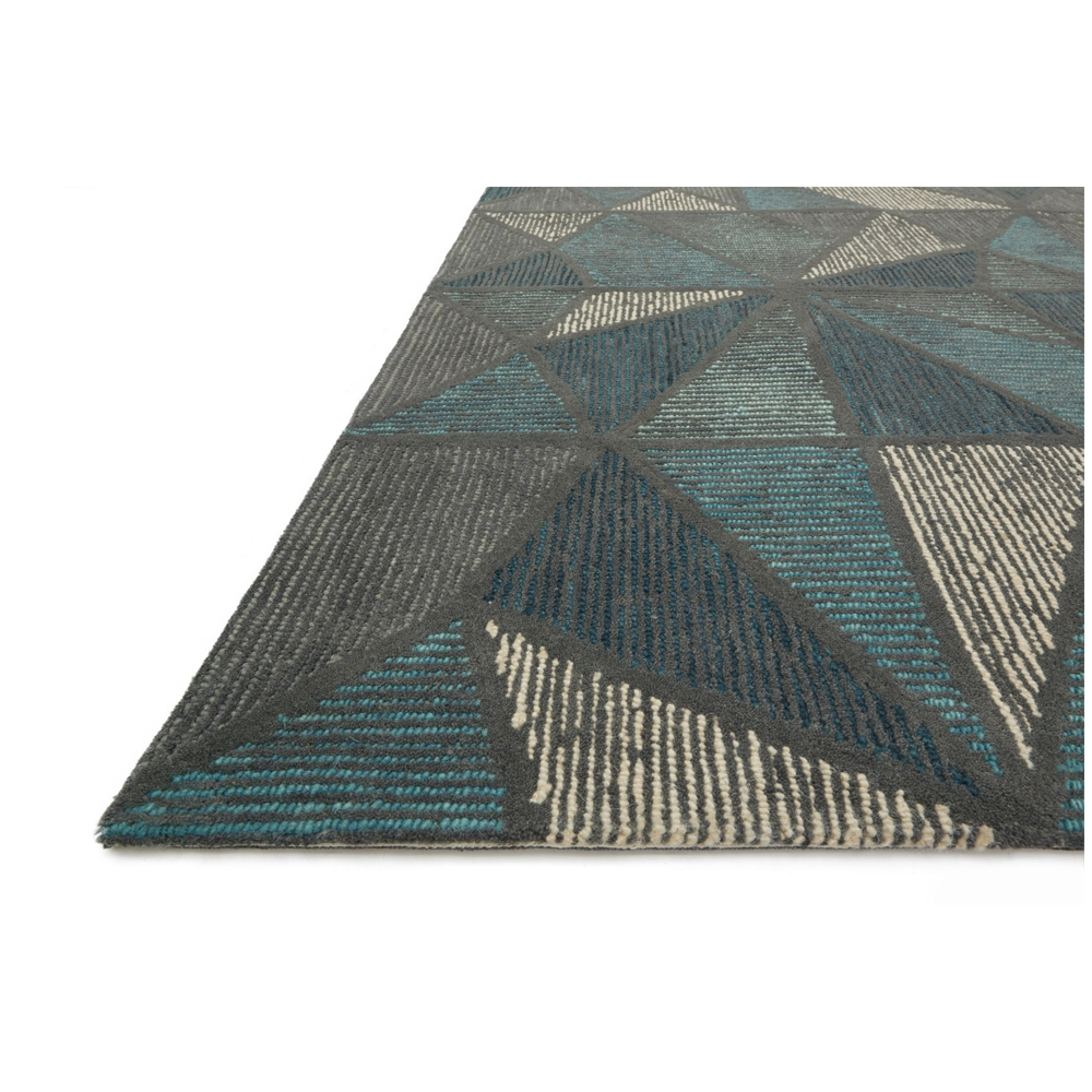 Loloi Gemology Rug Teal Grey GQ01 Contemporary Area Rugs