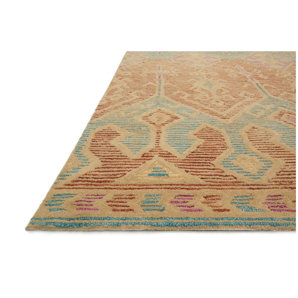 Loloi Gemology Rug Spice Teal GQ02 Contemporary Area Rugs