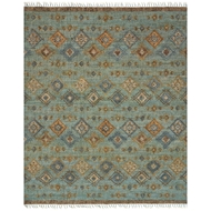 Loloi Owen Area Rug - Sea & Blue - Jute & Wool