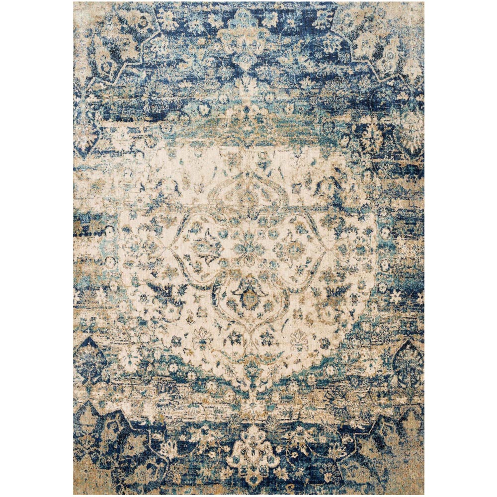 Loloi Anastasia Rug Blue Amp Ivory Af 06 Transitional Area
