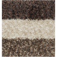 Loloi Callie Shag Area Rug - Color Block & 02 Rug - 100% Polyester
