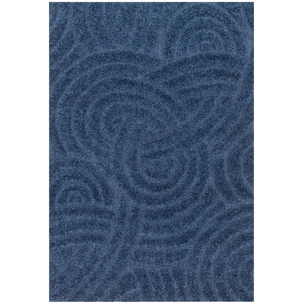 Loloi Enchant Area Rug Navy Light Blue 100 Polypropylene