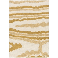Loloi Enchant Area Rug - Ivory & Gold Rug - 100% Polypropylene