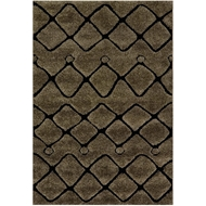 Loloi Enchant Area Rug - Smoke & Black Rug - 100% Polypropylene