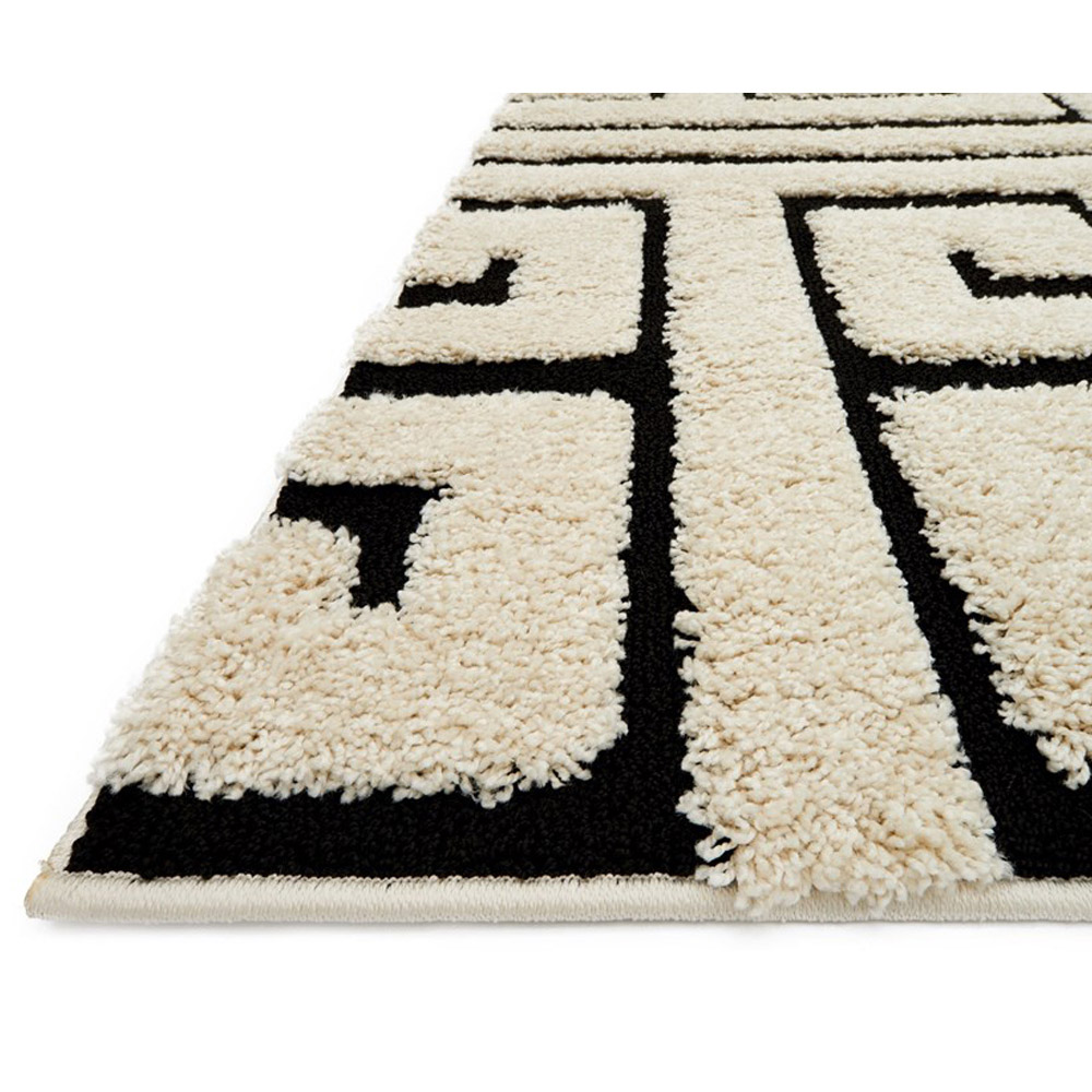 loloi enchant area rug white u0026 black rug 100