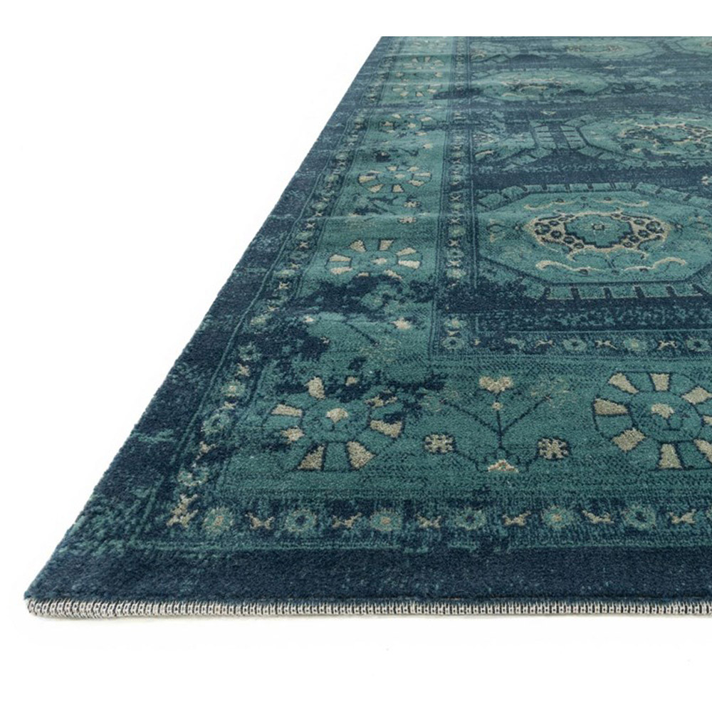 Finest Loloi Journey Rug Navy & Blue JO-08 | Transitional Area Rugs NC85