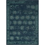Loloi Journey Area Rug - Navy & Blue Rug - Wool & Viscose