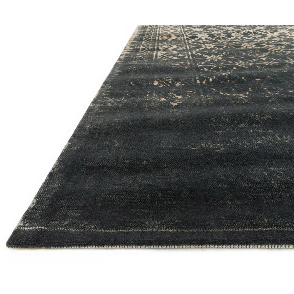Black And Tan Area Rugs loloi journey rug black & tan jo-10 | transitional area rugs