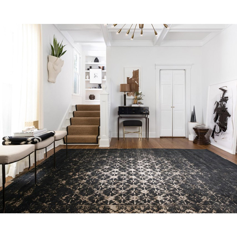 Black And Tan Area Rugs