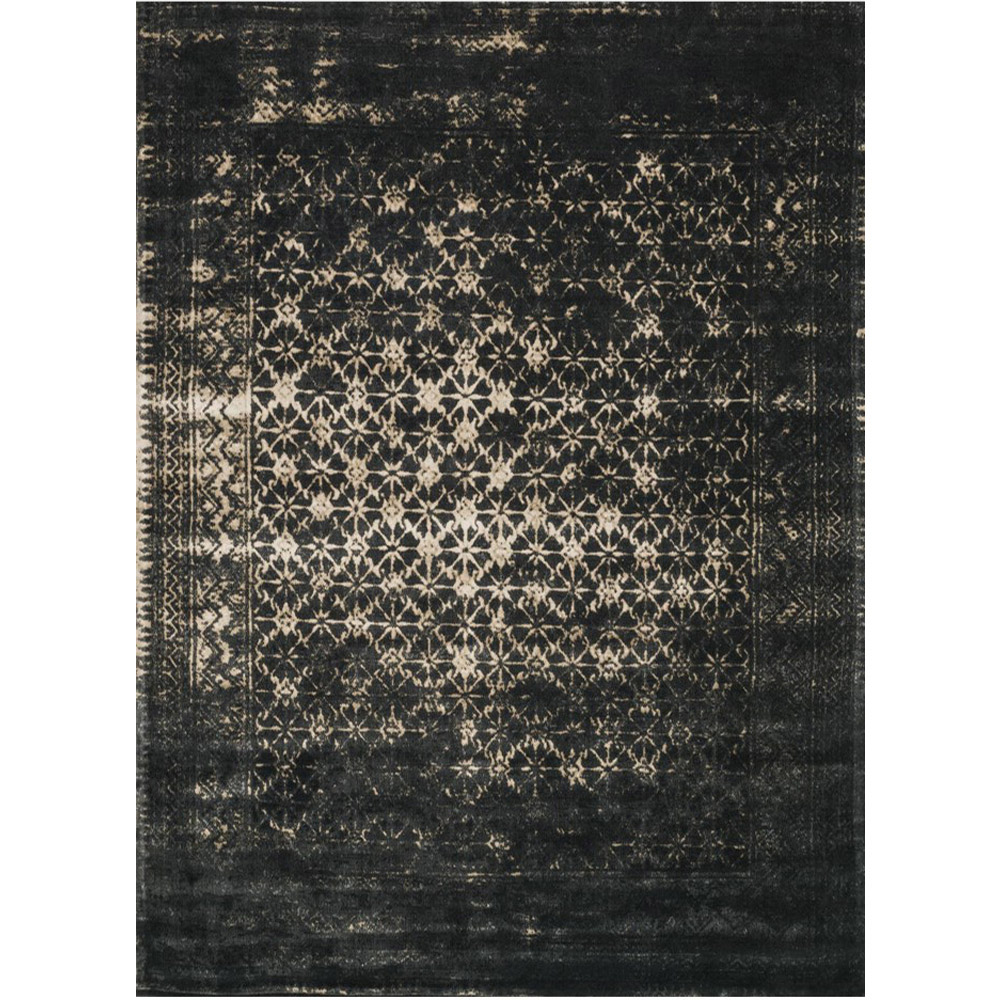 loloi journey rug black tan jo 10 transitional area rugs. Black Bedroom Furniture Sets. Home Design Ideas