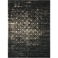 Loloi Journey Area Rug - Black & Tan Rug - Wool & Viscose