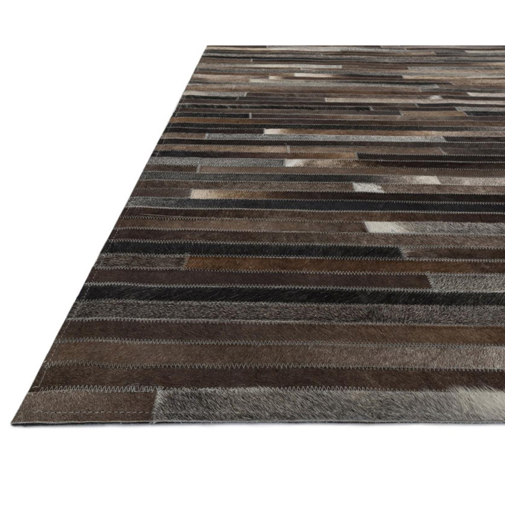 Awesome ... Loloi Promenade Area Rug   Charcoal Rug   100% Cowhide ...