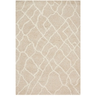 Loloi Tangier Shag Area Rug - Sand & Beige Rug - 100% Polyester