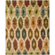 Loloi Xavier Area Rug - Multicolored Rug - 100% Jute