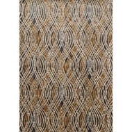 Loloi Dreamscape Area Rug - Charcoal & Gold Rug - Polypropylene & Polyester
