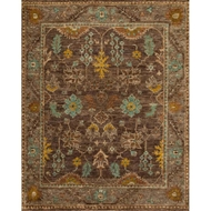 Loloi Empress Area Rug - Brown & Taupe Rug - 100% Jute