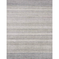 Loloi Haven Area Rug - Silver & Blue 100% Viscose From Bamboo