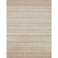 Loloi Haven Area Rug - Silver & Blush 100% Viscose From Bamboo