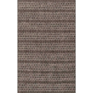 Loloi Isle Area Rug - Black & Grey - 100% Polypropylene