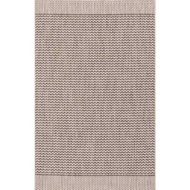 Loloi Isle Area Rug - Grey & Black - 100% Polypropylene