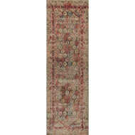 Loloi Javari Area Rug - Slate & Berry - Polyester and Polypropylene