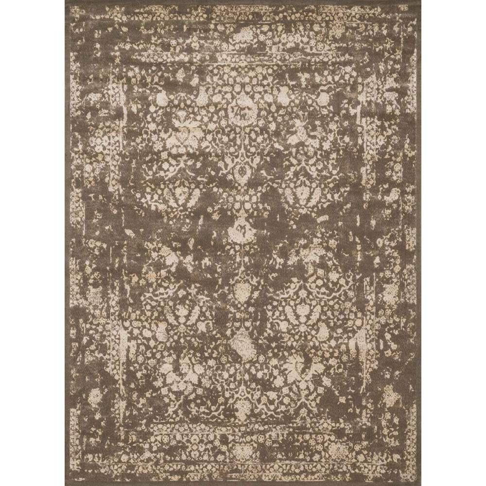Loloi Journey Area Rug   Dark Taupe U0026 Ivory Rug   50% Wool 50% ...