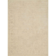 Loloi Journey Area Rug - Antique Ivory & Beige Rug - Wool & Viscose