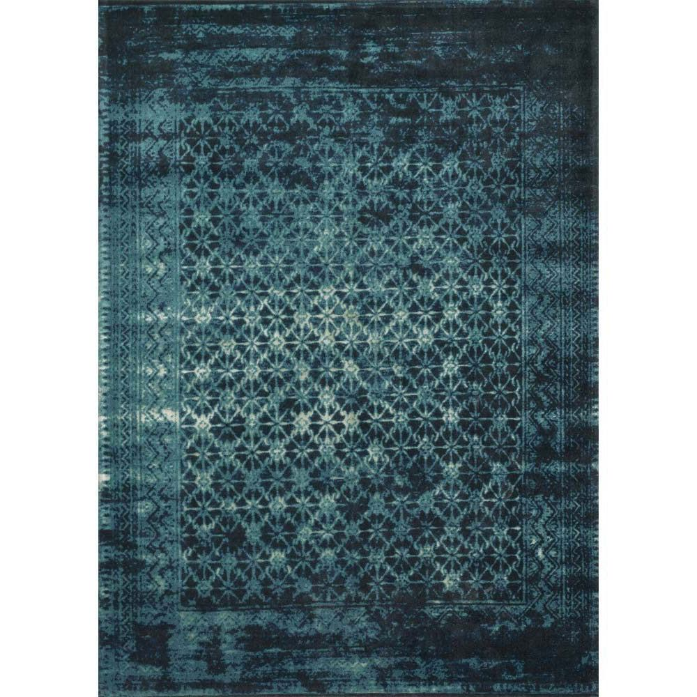 Loloi Journey Area Rug Indigo Blue 50 Wool Viscose