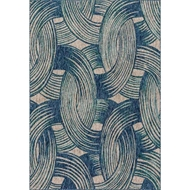 Loloi Newport Area Rug - Blue & Teal - 100% Polypropylene