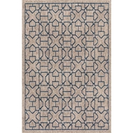 Loloi Newport Area Rug - Grey & Blue - 100% Polypropylene