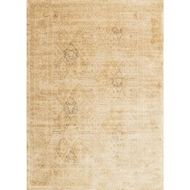 Loloi Nyla Area Rug - Light Gold Rug - 100% Viscose