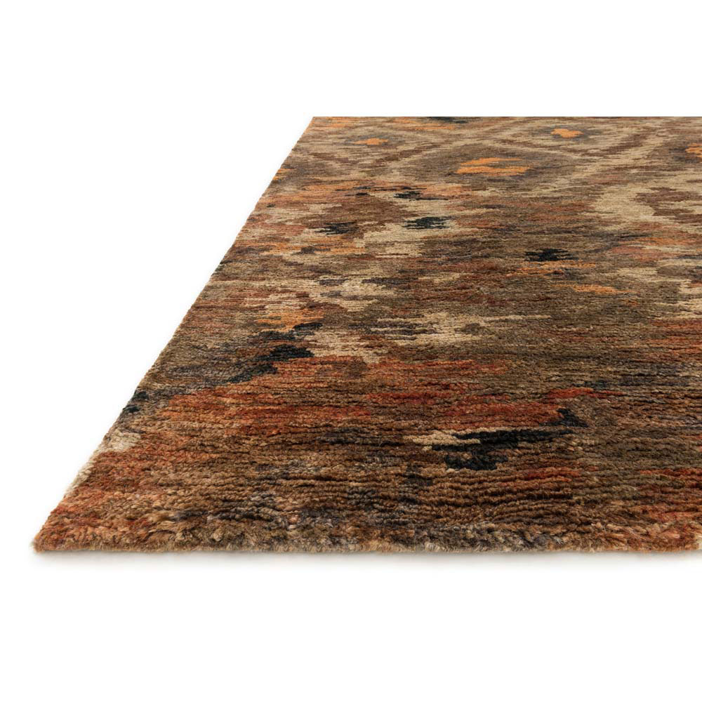loloi xavier rug rustic brown xv-08 | transitional area rugs
