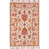 Loloi Zharah Area Rug - Berry 100% Wool