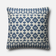 Magnolia Home by Joanna Gaines Navy & Ivory Pillow P1064 - Designer Pillow
