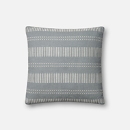 Magnolia Home by Joanna Gaines Lt. Blue Pillow P1066 - Designer Pillow