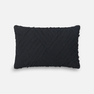 Magnolia Home by Joanna Gaines Black Pillow P1067 - Designer Pillow