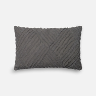 Magnolia Home by Joanna Gaines Grey Pillow P1067 - Designer Pillow