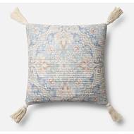 Magnolia Home by Joanna Gaines Blue & Multi Pillow P1069 - Designer Pillow
