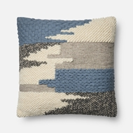 Magnolia Home by Joanna Gaines Blue Pillow P1076 - Designer Pillow