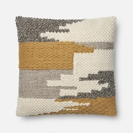 Magnolia Home by Joanna Gaines Gold Pillow P1076 - Designer Pillow