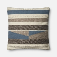 Magnolia Home by Joanna Gaines Blue Pillow P1077 - Designer Pillow
